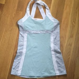 Kyodan tank top pink gray small 2/$10